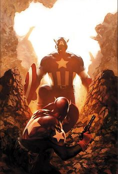 Captain America #39 by Steve Epting
