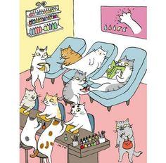 Cat nail salon