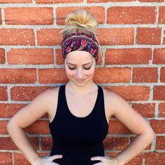 Workout headband fitness headband exercise by CarteBlancheKeara