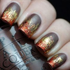 Nails On Fire Mani