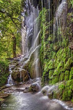 Gorman Falls at Colorado Bend, Texas, USA