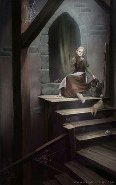 Melanie Delon Disney princesses photography 'Cinderella