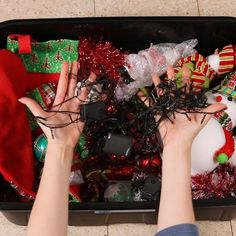 Don't Put Away Your Christmas Decorations Before You See These Hacks