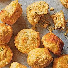 Jalapeño-Cheddar Corn Muffins | MyRecipes.com