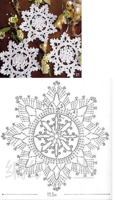 Crochet Knitting Handicraft: Search results for christmas Crochet Snowflake Pattern, Crochet Stars, Christmas Crochet Patterns, Holiday Crochet, Crochet Snowflakes, Crochet Flower Patterns, Thread Crochet, Crochet Crafts, Crochet Doilies