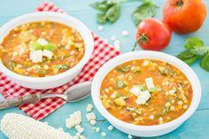 Summer Vegetable Soup - Plant-Based Vegan Recipe
