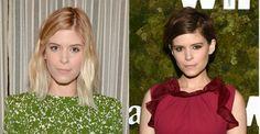 Kate Mara exibe novo visual ao aparecer com os cabelos mais curtos