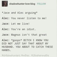 Alec And Jace, Clary And Jace, Mortal Instruments Books, Shadowhunters Tv Show, Alec Lightwood, The Dark Artifices, City Of Bones, The Infernal Devices, Book Memes
