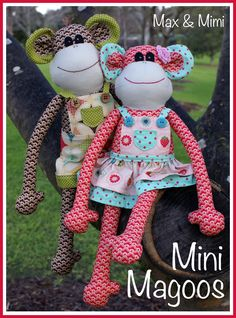 Delicately handcrafted ~ Max & Mimi by Melly - Melly & me typepad
