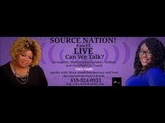 Can We Talk with Myra McKnight and CoCo Gayle-Healed In Heals @healedinheels @kathylynne1971 @myramcknight00 @trecie_jeffcoat @srnetwork_ @theoppcoach  Source Nation!  Listen in as Host Myra McKnight speaks with CoCo Gayle about Healed In Heels, Sexual Assault and Domestic Violence.  You've heard it here from your favorite radio station Source Radio Network.