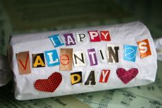 This Valentine's Day, make something different and fun for your kids to hand out to their friends-- a toilet paper roll Valentine! It's more eco-friendly and they are one-of-kind Valentines!