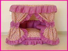 Gorgeous Pet Dog Cat Puppy Bed House Custom Handmde