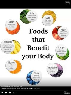 food that benefits your body