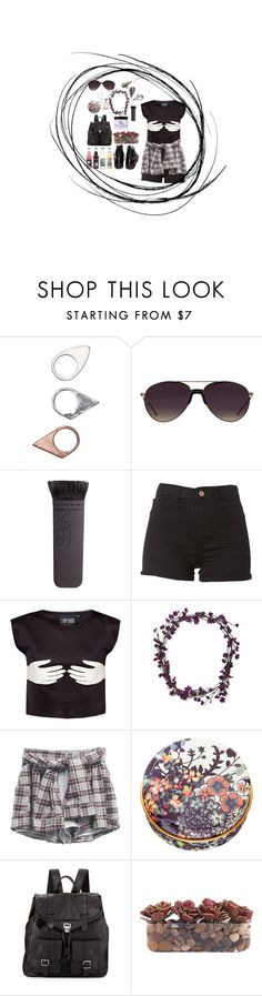 """""""just a sketch . . ."""" by cakex on Polyvore featuring Monki, Helmut Lang, Linda Farrow, NARS Cosmetics, Berry, Paul & Joe Beaute, Proenza Schouler, John-Richard and Made Her Think"""