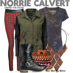 Inspired by Mackenzie Lintz as Norrie Calvert on Under the Dome.