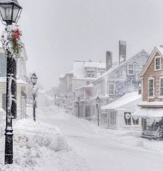 Winter Snow Storm in Marblehead Old town Massachusetts U S by Rob Kipp Winter Szenen, Winter Magic, Winter Storm, Winter Time, Winter Christmas, Films Western, Images Noêl Vintages, Snow Scenes, Winter Beauty