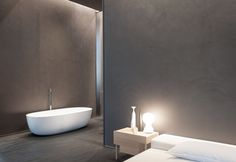 KERAKOLL design house_Sotto la direzione artistica di Piero Lissoni, living, cucina, camera da letto, bagno diventano manifesto di un progetto organico, in cui materiali, texture e colori, si combinano in maniera coordinata, all'insegna delle calde e sofisticate nuance Warm Collection.
