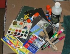 Art Journaling Basics to Get You Started...a very simple and basic how to...I like how she keeps it very simple