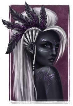 Digital art girl fantasy character inspiration 56 new ideas Anime Art Fantasy, Fantasy Art Women, Black Girl Art, Black Women Art, Black Art, Character Portraits, Character Art, Art Sketches, Art Drawings