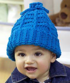 Baby to Kid Crochet Hat - Free Crochet Pattern