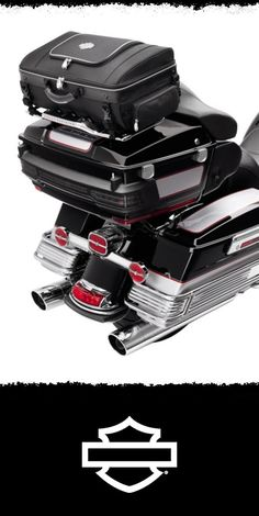 Perfect for one night or a quick weekend getaway, and conveniently mounts to your Tour-Pak luggage rack. | Harley-Davidson Premium Tour-Pak Luggage Rack Bag