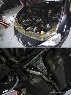 """Installing our 3"""" Overpipe & 3"""" Resonated Frontpipe in this Full Blown Turbo FRS. Now ready for a Fiebruz Corp X EcuTek International Ltd Race Rom Tune. For more info about our parts for the FRS: http://fiebruzmotorsports.com/…/frs-20…/exhaust-frs-2012-on/ #fiebruz #frs #scion #turbo #puertorico #fiebruzmotorsports #ecutek"""