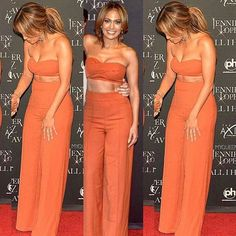 Stunning @jlo in the @houseofcb Rosalva two piece. Styled by @robzangardi and @marielwashere Shop: houseofcb.com