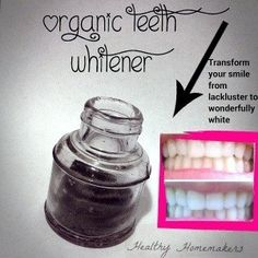 Activated Charcoal:  How To Whiten Teeth With This Tooth whitener and Remineralizer (Ditch the strips )