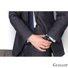 Be ready with Guillot Bracelets Bleus, Men Looks, Parisian, Men Dress, Watches For Men, Fashion Accessories, Business Men, Mens Fashion, Elegant