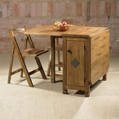 folding dining table with chair storage for child this would bve good small apartment living because it can klappbarer esstisch chairs kitchen foldable