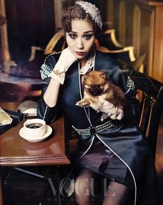 """The Terrier and Lobster: """"Good Time Girls"""": Flappers by Hong Jang Hyun for Vogue Korea"""