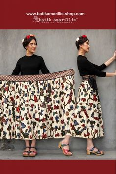Batik Amarillis made in Indonesia www. proudly presents Batik Am. - Batik Amarillis made in Indonesia www. proudly presents Batik Am. Batik Fashion, Diy Fashion, Fashion Ideas, Fashion Trends, Fashion Pants, Fashion Dresses, Maxi Skirt Tutorial, Batik Kebaya, Amarillis
