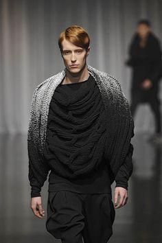 Wang Li Xuang F/W 2011  | Knit | Knitwear |  catwalk | runway | high fashion | tricot