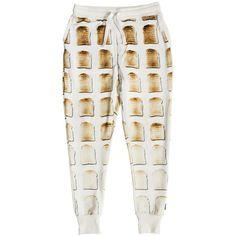Snurk Women's Toast Pyjama Trousers (€54) ❤ liked on Polyvore featuring intimates, sleepwear, pajamas, cotton pjs, cotton sleepwear, cotton pajamas and cotton pyjamas