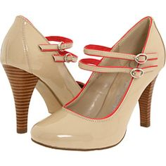Zappos - Gabriella Rocha Dancy $48.99 SALE! These Nude and Coral pumps are beautiful!