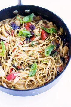 vegan one-pot pasta