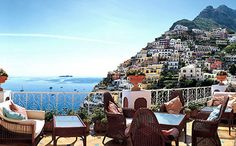 I had lunch once on this balcony overlooking the Mediterranean Sea.  My dream would be to return and be able to stay in this 5 star hotel one day.