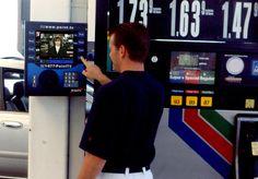 Gas station media - Cyberchron technology