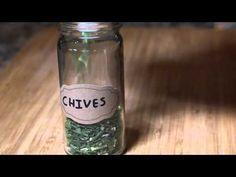 Drying Chives | Straw Bale Garden Recipes – Dan330
