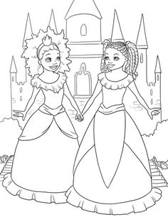 The Colorful Adventures of Zoe & Star Coloring Page