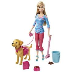 Barbie Potty Training Taffy Doll  Yes, those are indeed dog poops lol