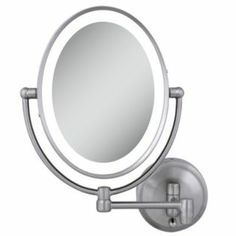 lighted magnifying mirror