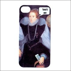 iphone 4 case iphone 4s case funny Queen Elizabeth by icasecouture, $16.99