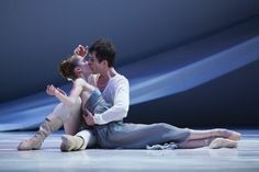 Carla Korbës and Seth Orza of PNB in Romeo et Juliette