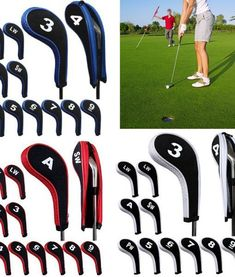 4c10ff29e7d5d5 Golfing Club protection covers