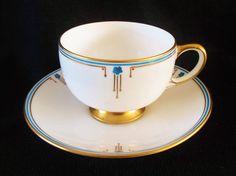Art Deco Paragon Star Fine Bone China Cup 1 of 3