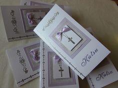 VillaTuta (Mummon pajukori): Rippikutsukortit ja kuoret Invitation Cards, Invitations, Christian, Frame, Scissors, Mittens, Decor, Socks, Glitter