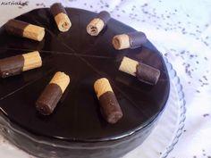 Czekoladowy tort z chrupiąca warstwą Convenience Store, Baking, Convinience Store, Patisserie, Bakken, Bread, Backen, Sweets