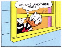 """Oh, oh! Another one!   """"Trick or Treat"""" (1952) by Carl Barks"""