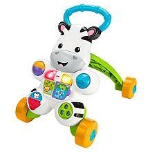 """Fisher Price - Mon trotteur Zèbre parlant - Mattel - Babies""""R""""Us"""